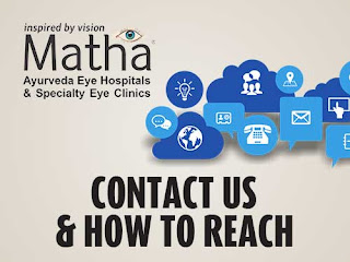 How to reach matha ayurveda eye hospital