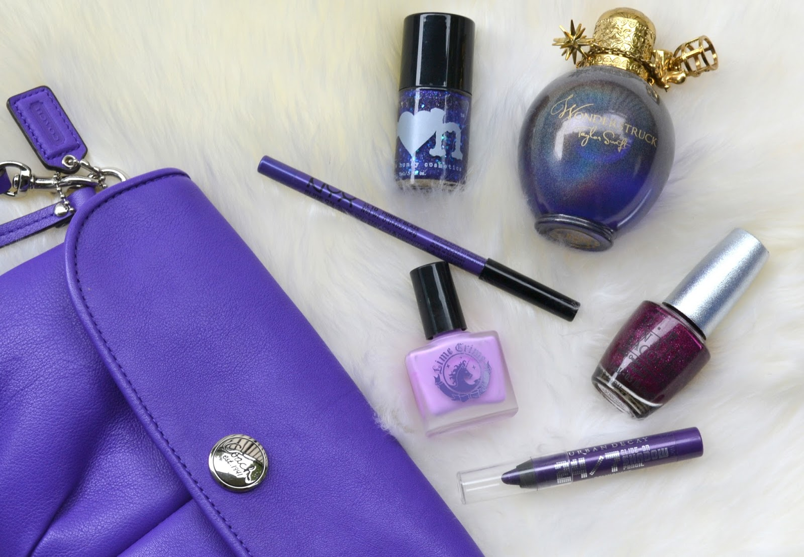 All About Purple from Cosmetic Proof: August Canadian Beauty