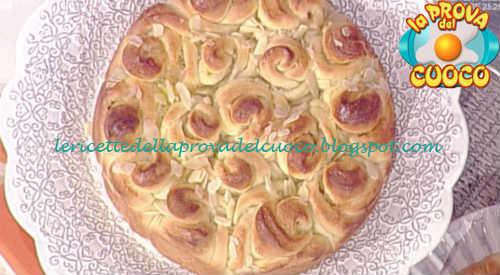 Prova del cuoco - Ingredienti e procedimento della ricetta Brioche ricciolina di Natalia Cattelani