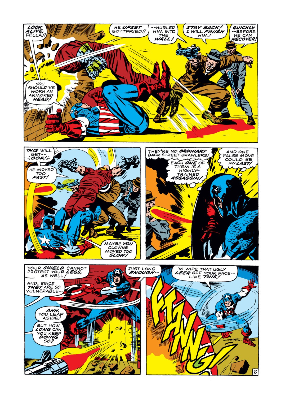Read online Captain America (1968) comic -  Issue #102 - 7