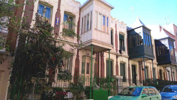 Casas Calle Roma Madrid