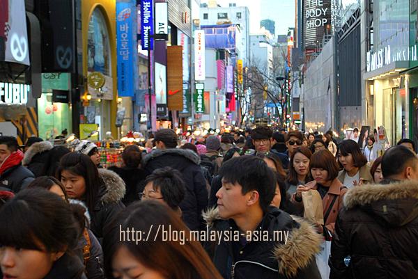 Korea Myeongdong Street