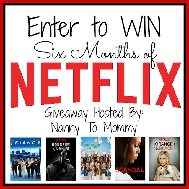 6-Months of Netflix Giveaway