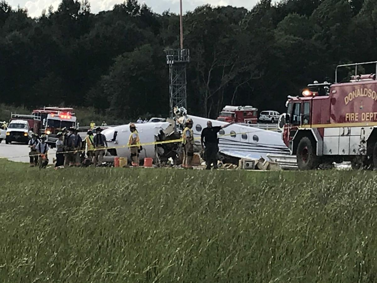 Kathryn's Report: Dassault Falcon 50, N114TD: Fatal accident