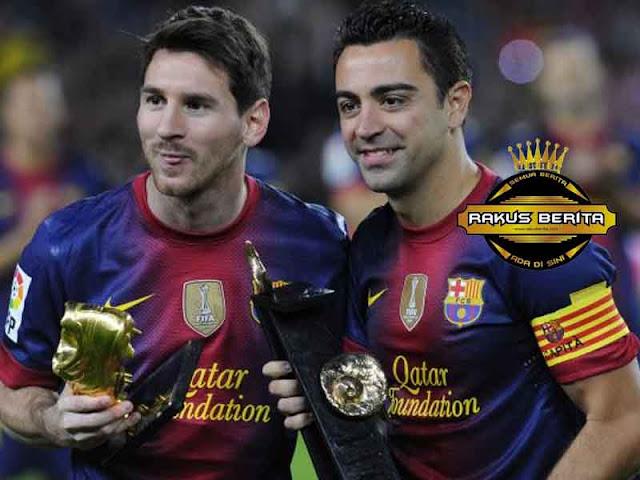 Xavi 'Messi Tak Butuh Trik Untuk Menjadi Sukses'