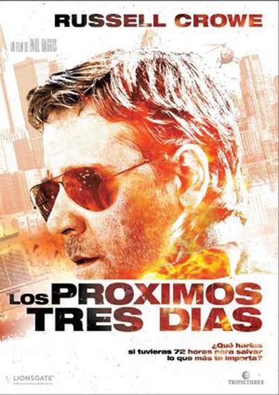 Los Proximos Tres Dias DVDRip Español Latino