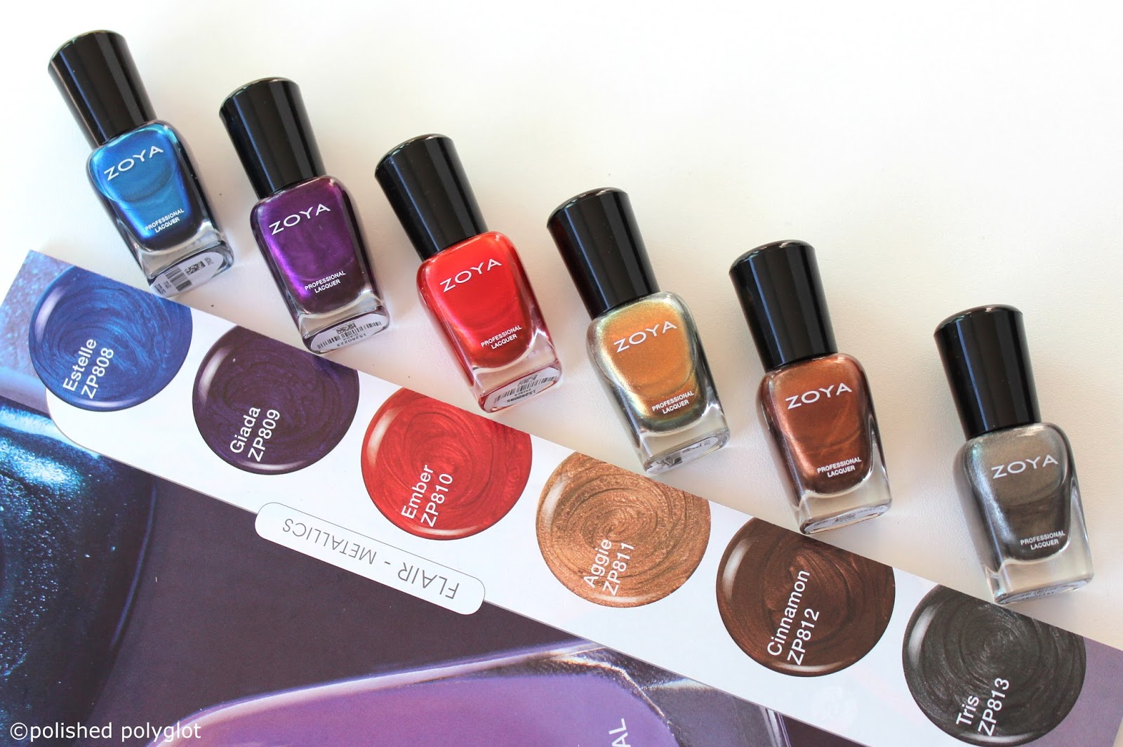 Zoya Focus & Flair collections for Winter 2015-2016 / Polished Polyglot
