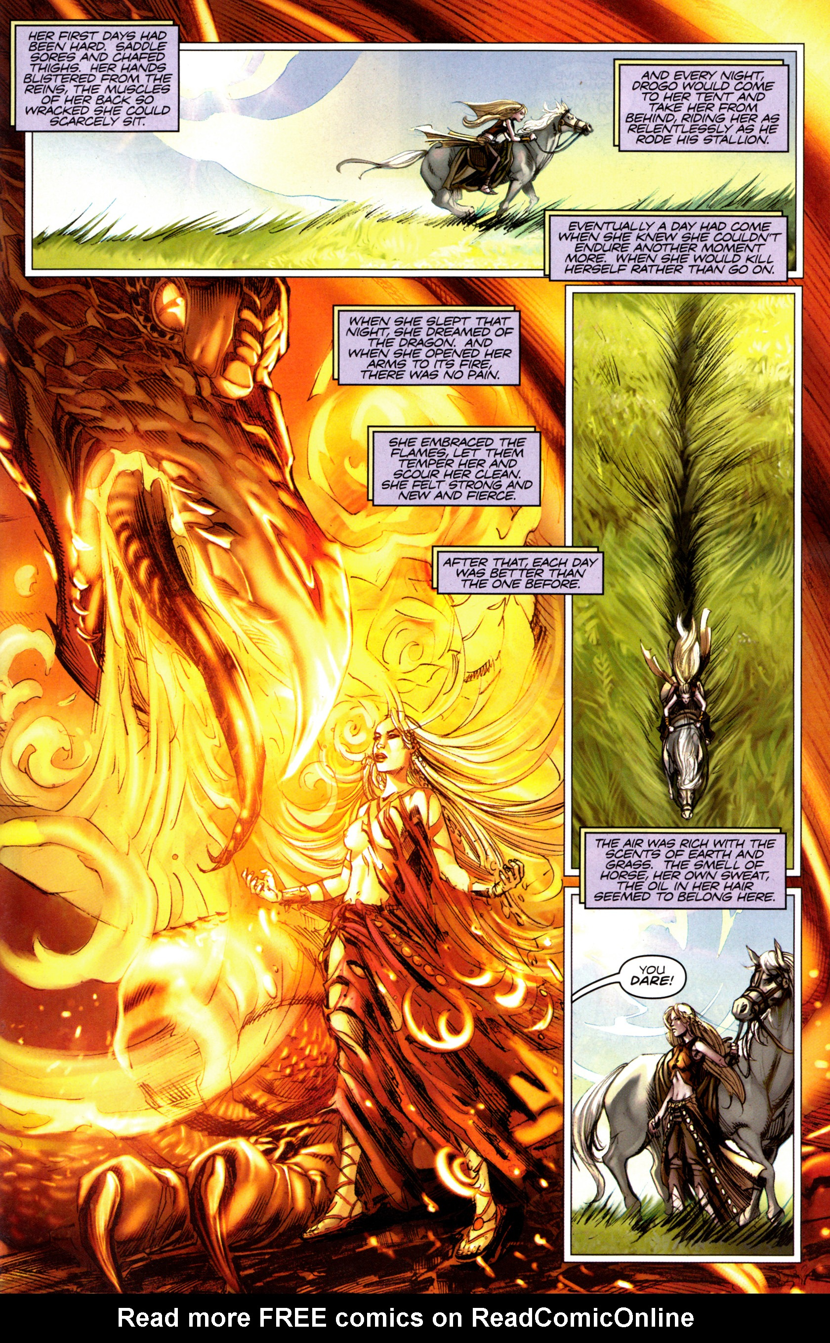 Read online A Game Of Thrones comic -  Issue #6 - 23
