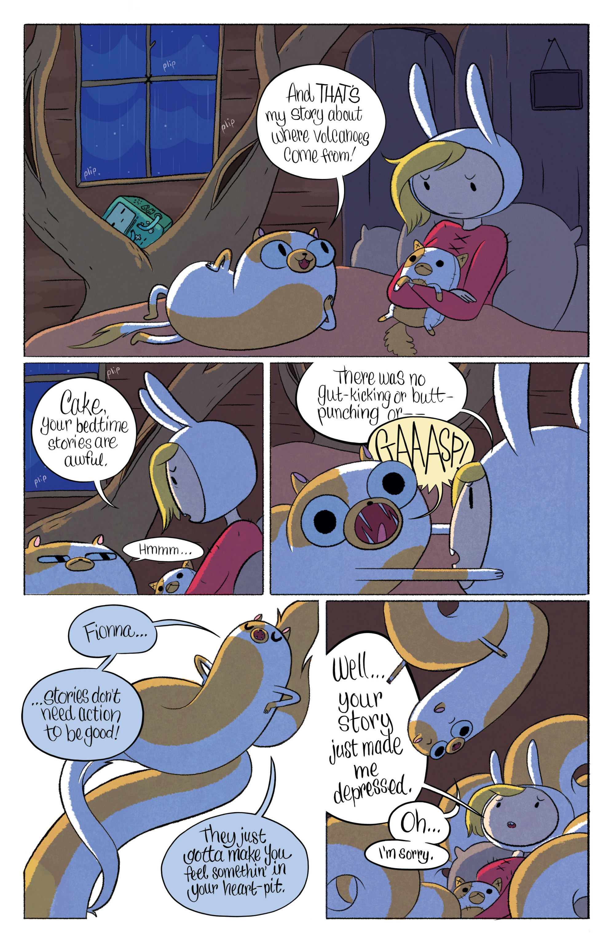 Read online Adventure Time with Fionna & Cake comic -  Issue #1 - 12