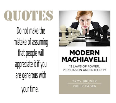 Modern Machiavelli: Quotes