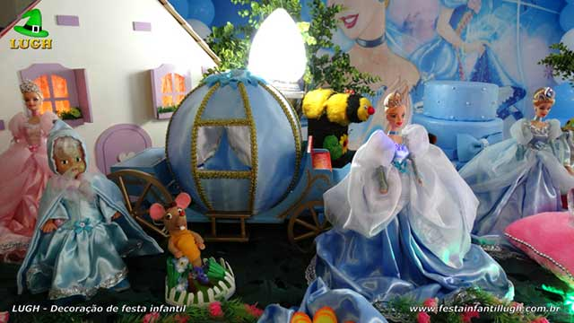 Festa infantil Cinderela