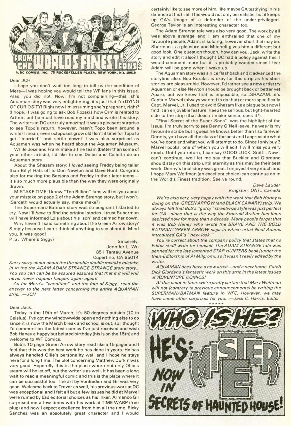 Read online World's Finest Comics comic -  Issue #266 - 2