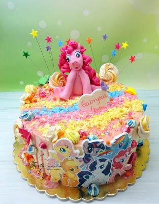 tort drip cake dla dzieci