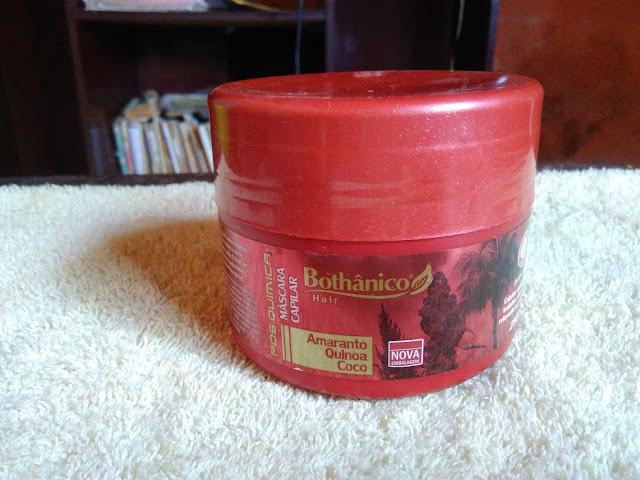 Resenha: Máscara e finalizador pós química da Bothânico Hair