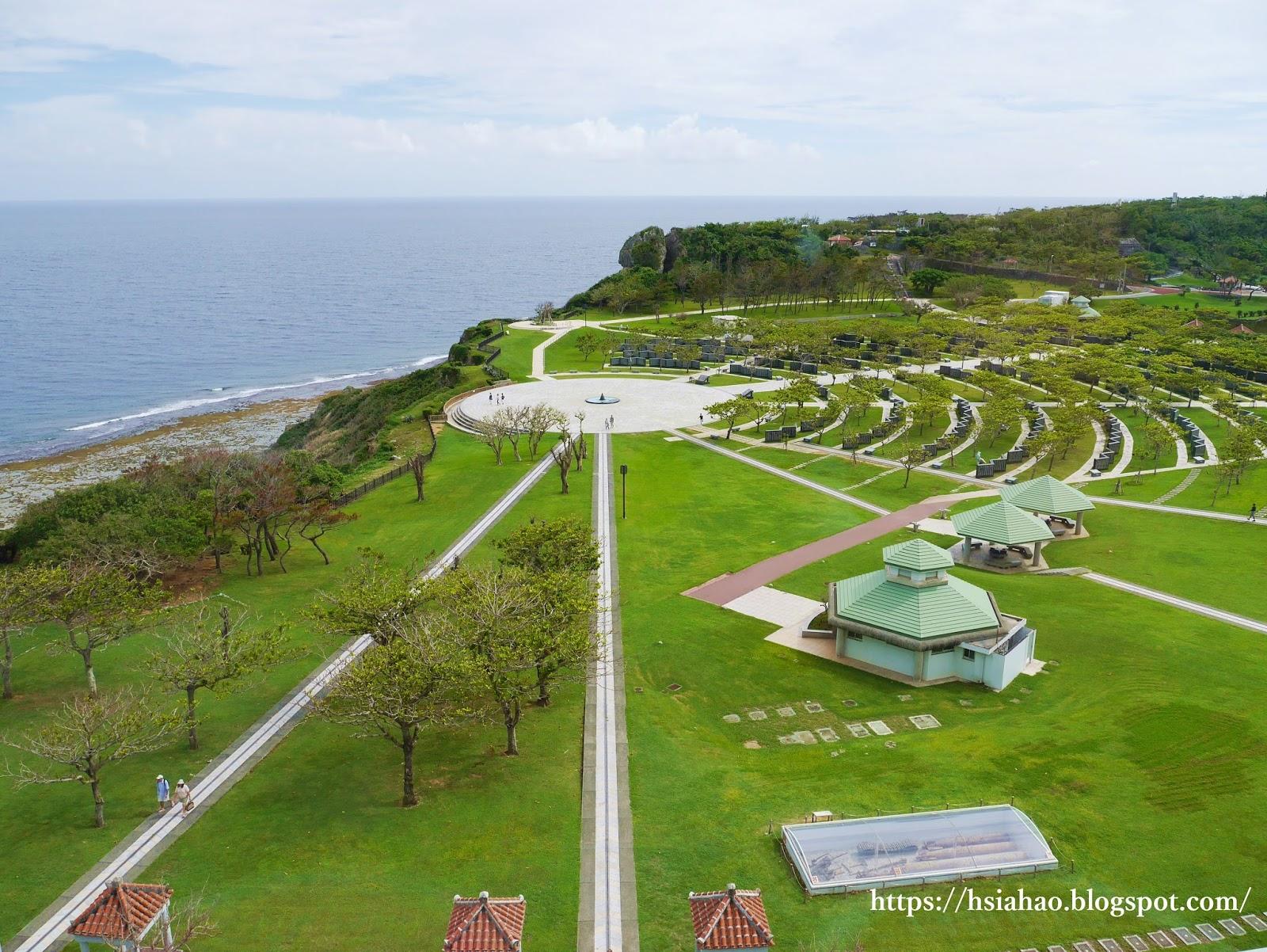 沖繩-景點-平和祈念公園-平和之礎-平和祈念資料館-觀景台-自由行-旅遊-Okinawa-peace-park-memorial-museum