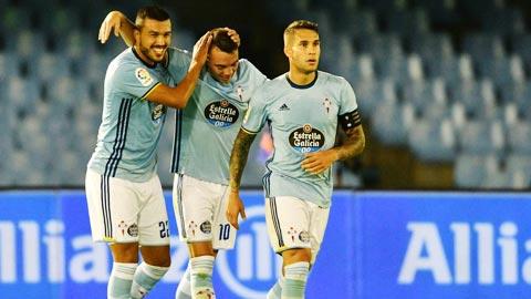 Celta Vigo đã khiến người hâm mộ bàng hoàng.