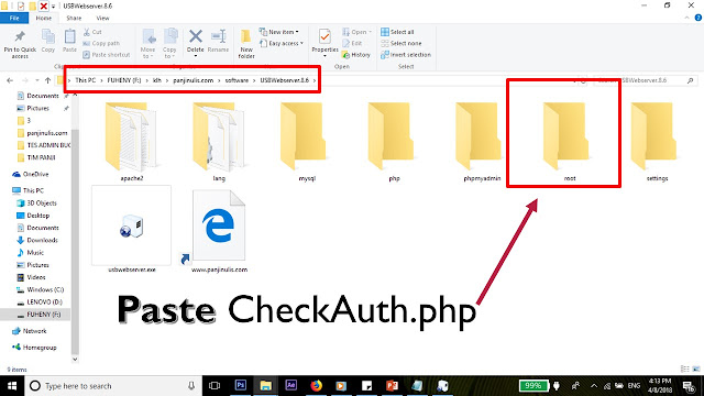 Paste CheckAuth.php
