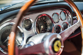 1960 Ferrari 250 GT Coupe Car Speedometer