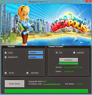 Megapolis Hack Tool Download