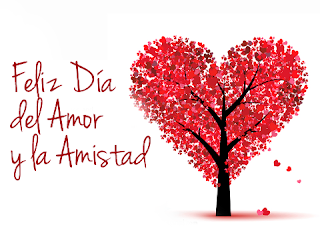 Tarjetas con mensajes para el día de los enamorados,Dia de amor y amistad