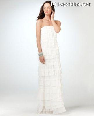 Vestidos Blancos Largos