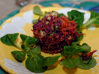 Salade d'hiver croquante à la clémentine