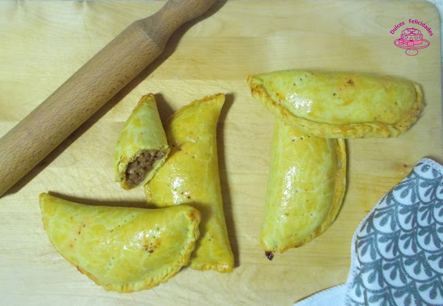 Patty Jamaicano o Jamaican beef Patties