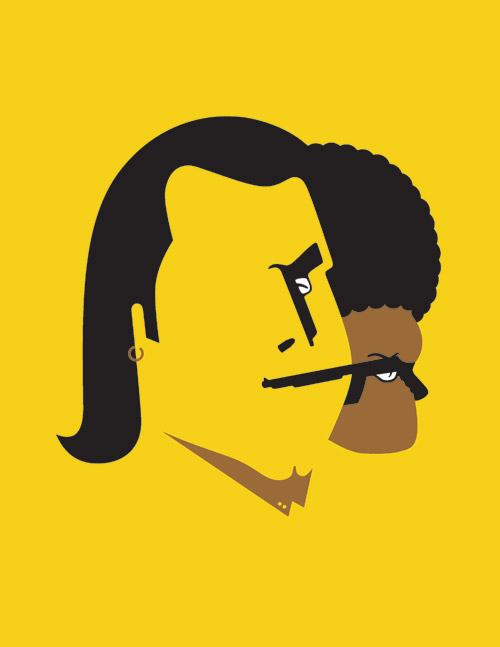 Noma Bar Pulp fiction