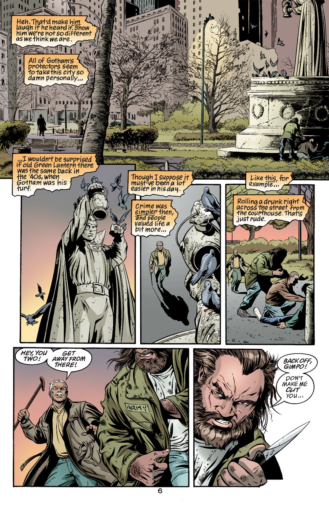 Detective Comics (1937) 784 Page 6