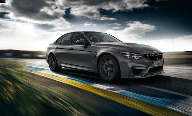 BMW M3 CS дебютирует в ограниченном количестве - всего 1200 штук.