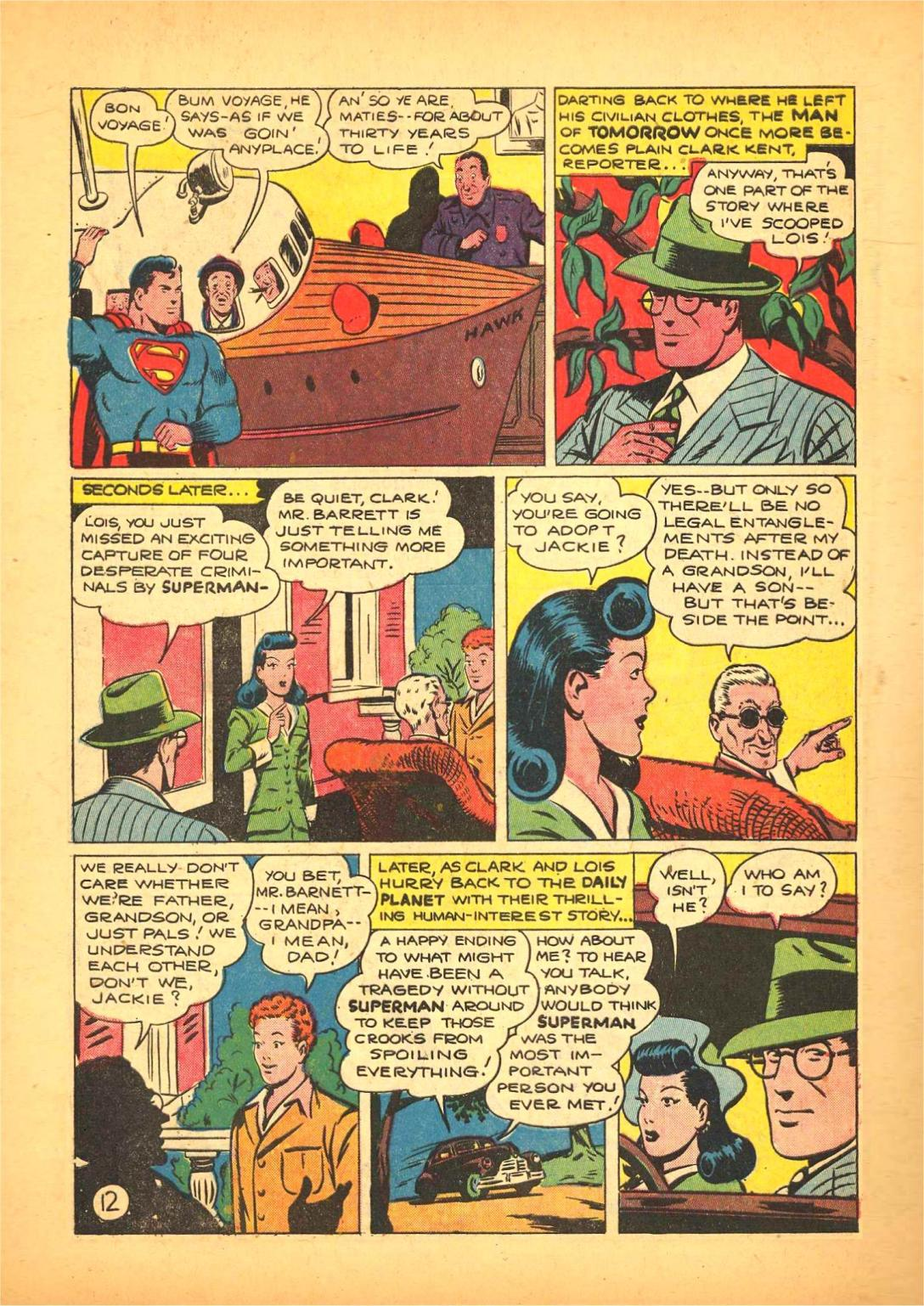 Read online Action Comics (1938) comic -  Issue #66 - 13