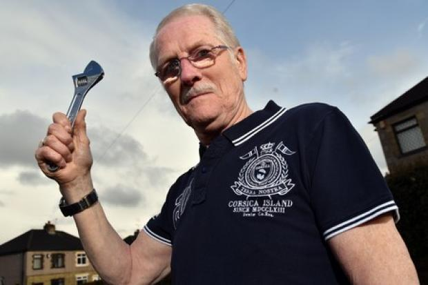 Leo, 70, fights off B&Q carjackers with spanner he just bought