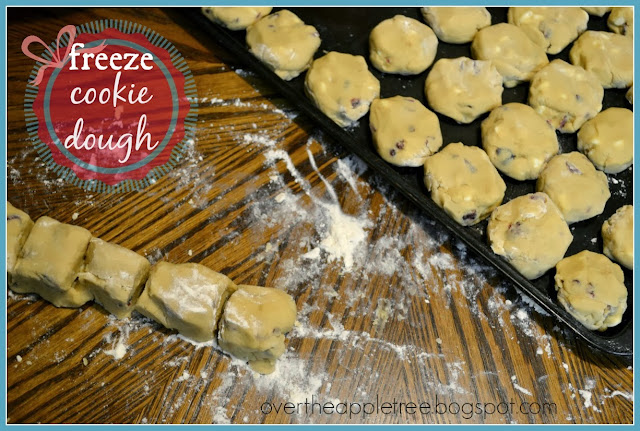 Freeze Cookie Dough by Over The Apple Tree