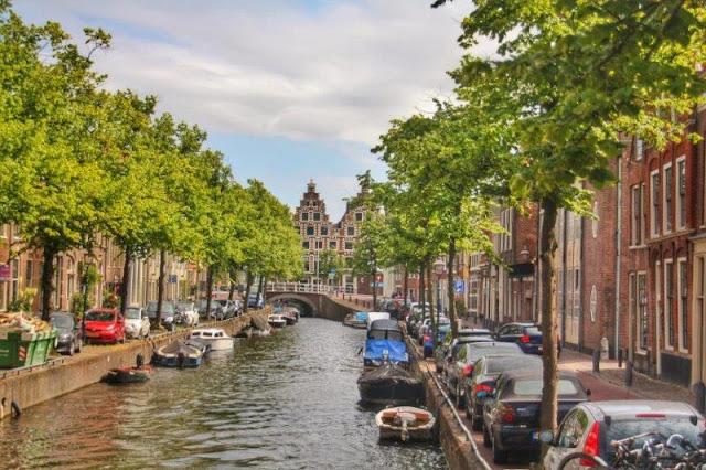 Canal en Haarlem