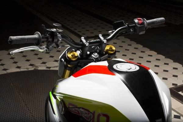 BMW Stunt G 310 Concept, sepeda motor kawin silang TVS dan BMW