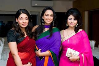 Mishu Sabbir And His Wife Shamma Holud Wedding Photos With Actress Bindu And Ashna Habib Bhabna