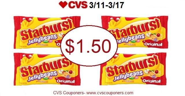 http://www.cvscouponers.com/2018/03/hot-pay-150-for-starburst-jelly-beans.html