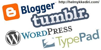 Platform blogging alternatif selain blogger