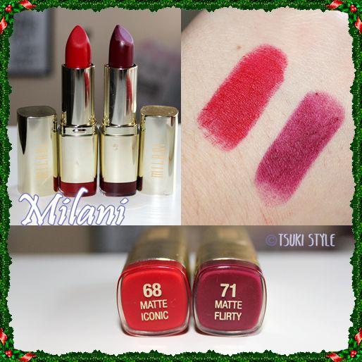 milani lipsticks labial