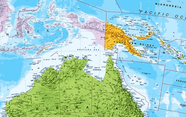Papua Nugini mungkin memang tidak seterkenal negara Letak Astronomis, Geografis dan Geologis Papua Nugini serta Keuntungannya
