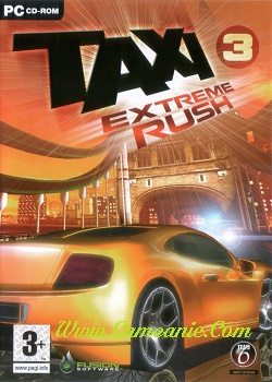 Taxi 3 Extreme Rush Game Cover