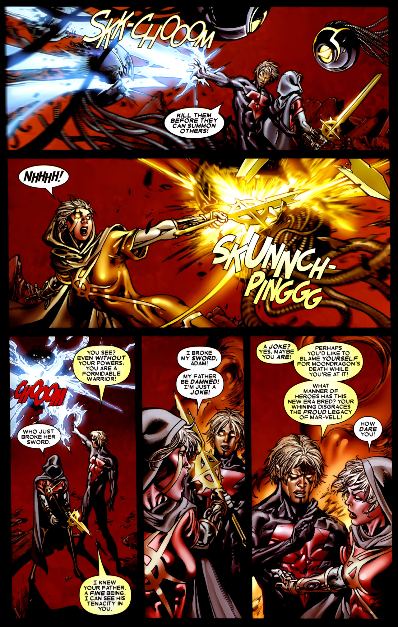 Read online Annihilation: Conquest comic -  Issue #4 - 21