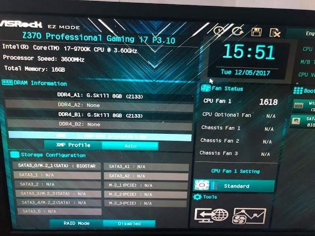 Bocoran Core i7-9700K Capai 5.5Ghz saat Di Overclock