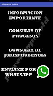 app rama judicial colombia