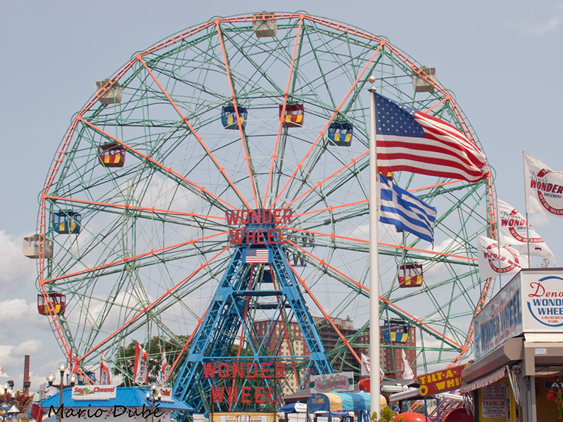La Wonder Wheel de Coney Island (Brooklyn)