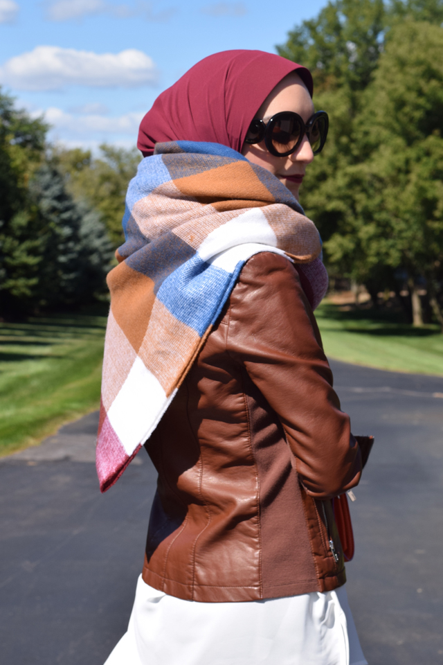 Blanket Scarf - Fall accessories - oversized scarf