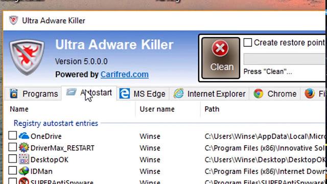 ultra adware killer\