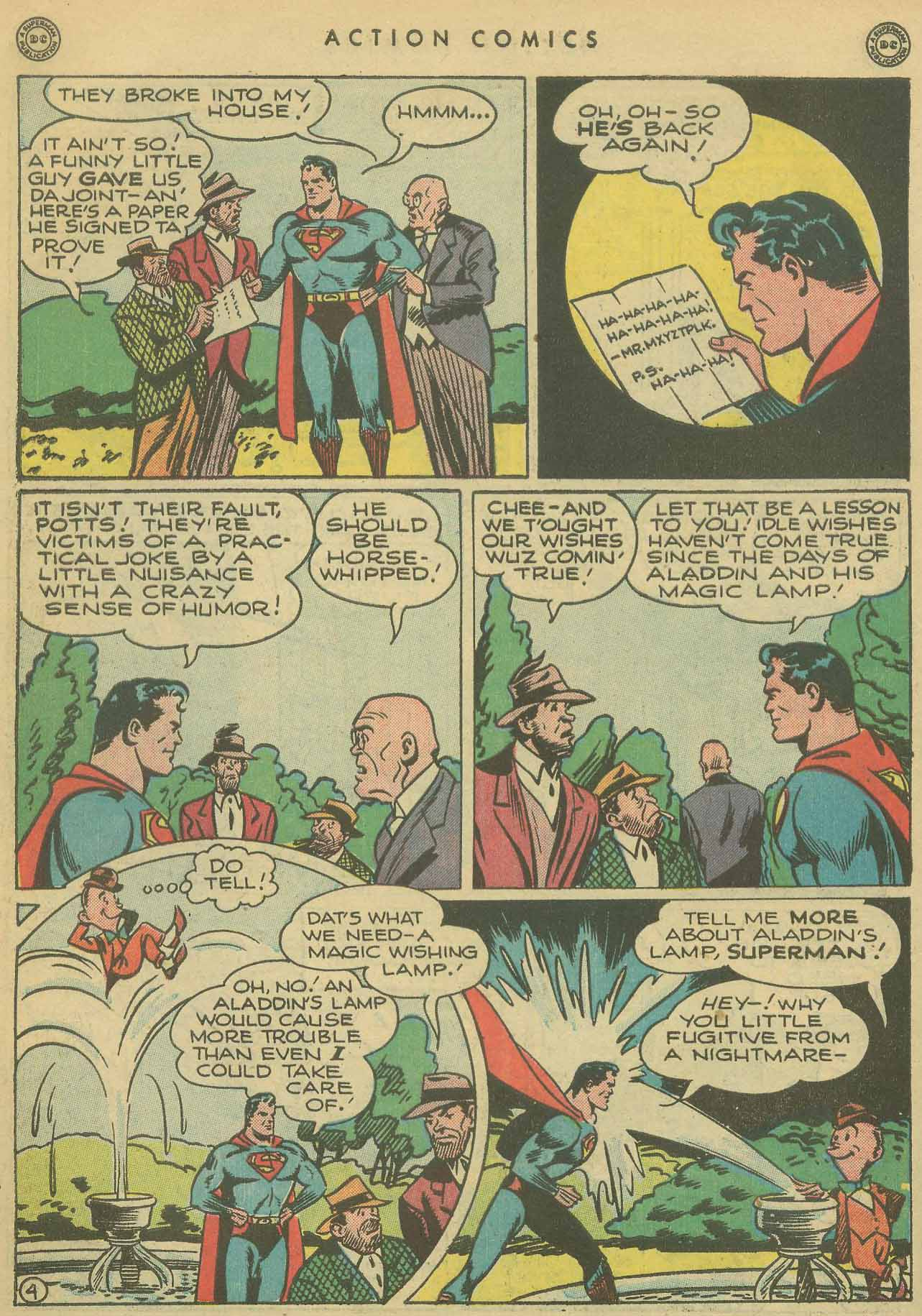 Read online Action Comics (1938) comic -  Issue #102 - 5