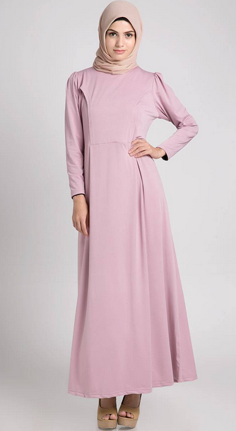 Foto Baju Dress Muslim Terbaru