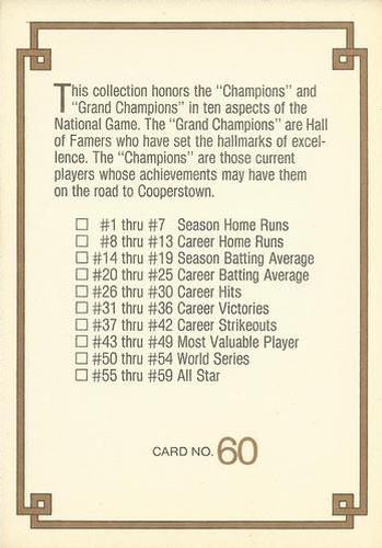 Collecting The 1980s 1984 Donruss Champions